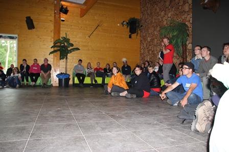 Training in de kampschuur